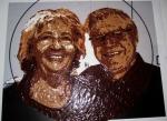 peinture au chocolat