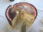 gâteau portrait mariage