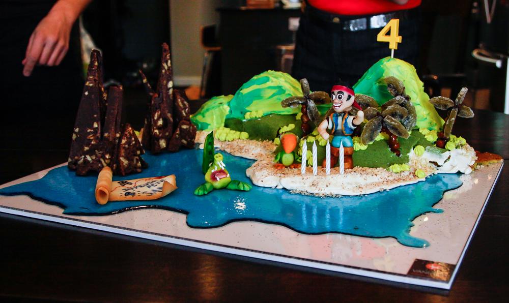 Gateau Pirate Ile Arts Culinaires Magiques